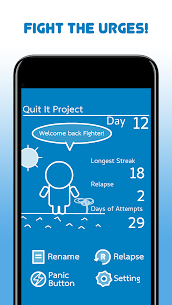 Quit Addiction: to Super For Pc (Free Download – Windows 10/8/7 And Mac) 1