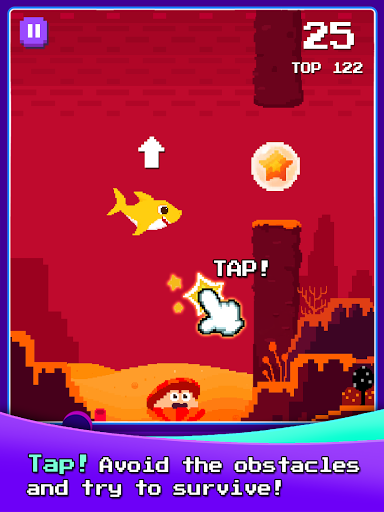 Baby Shark 8BIT : Finding Friends 2.4 screenshots 10