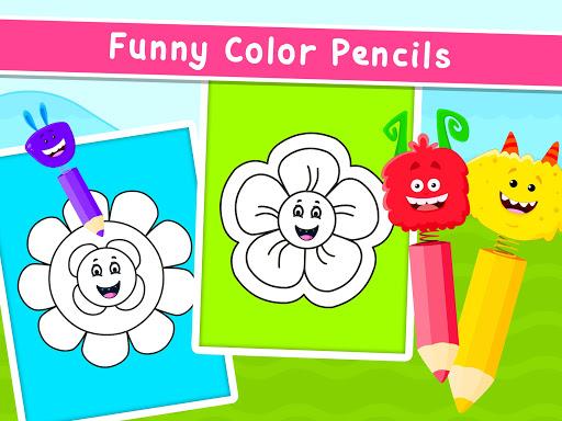 Coloring Games for Kids - Drawing & Color Book Apkfinish screenshots 16