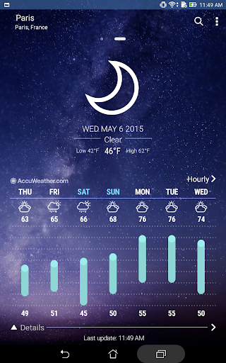 ASUS Weather 5.0.1.31_190709 Screenshots 7