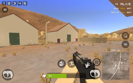 Grand Pixel Royale Battlegrounds Mobile Battle 3D  screenshots 23