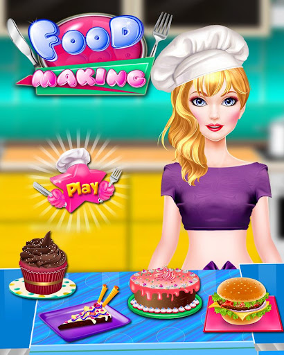 Cooking Recipes - in The Kids Kitchen  screenshots 1