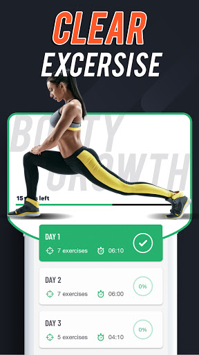 Foto do 30 Days Buttocks Workout For Women, Legs Workout