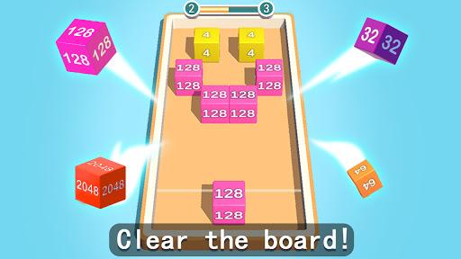 2048 3D: Shoot & Merge Number Cubes, Block Puzzles Screenshots 7