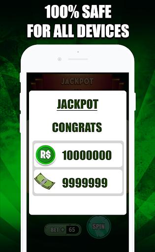 Robux Casino : Free Robux Slot Machine & RBX Wheel  Screenshots 4