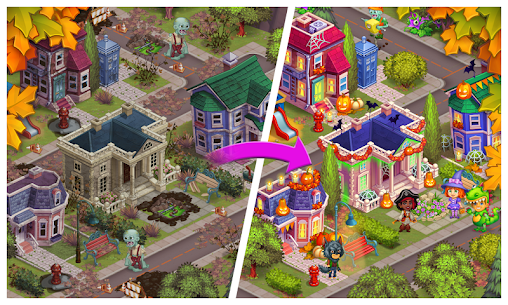 Free Monster Farm – Happy Ghost Village – Witch Mansion 5