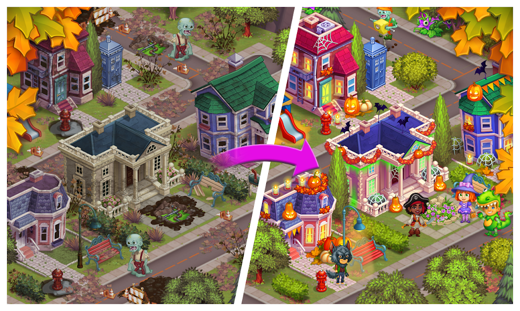 Monster Farm - Happy Ghost Village - Witch Mansion poster 3