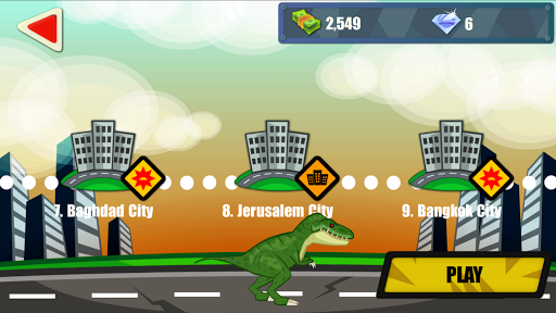 Jurassic Dinosaur: City rampage modavailable screenshots 4