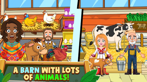 My Town : Farm Life Animals Game  for Kids Free 1.07 screenshots 2