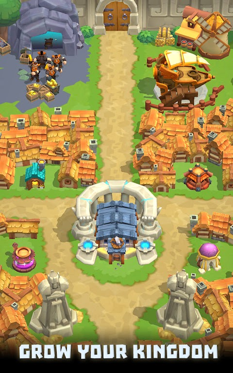 Wild Castle TD: Grow Empire Tower Defense in 2021  poster 2