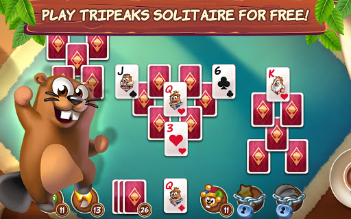 Treepeaks - A Tripeaks Solitaire Free Adventure screenshots 1