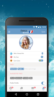 France Dating App - Meet, Chat, Date Nearby Locals 7.0.2 Screenshots 3
