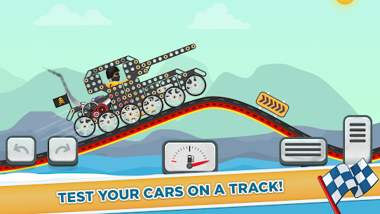 Free Car Builder and Racing Game for Kids 3