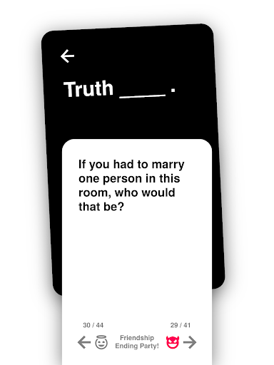 Truth or Dare: Dirty & Evil Drinking Game  screenshots 13