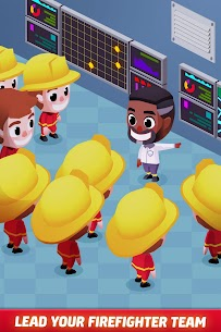 Idle Firefighter Tycoon APK , Fire Emergency Manager APK Download 1