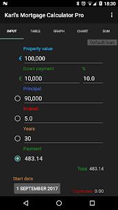 Karl's Mortgage Calculator Pro 1