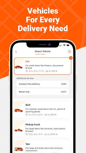 Lalamove - On-Demand Delivery  Screenshots 4