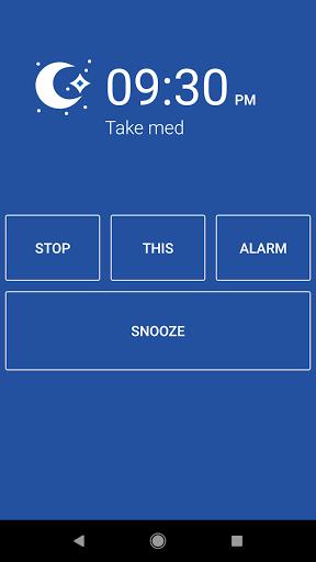 Simple Alarm Clock Free android2mod screenshots 4