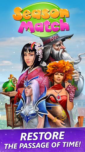 Season Match 3 Games 🔮 Bejeweled Puzzle & Quest apktreat screenshots 2