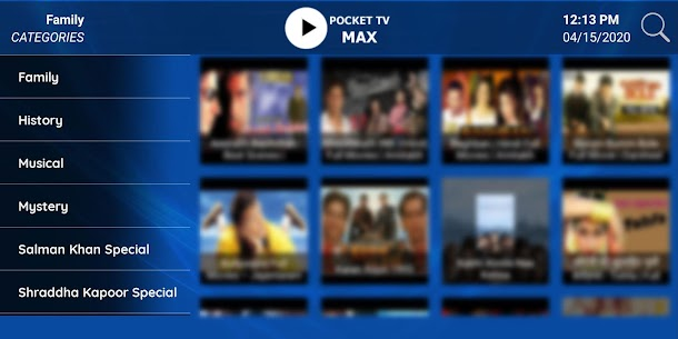 POCKET TV for PC Free Download on Windows and Mac 5
