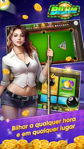 Bilhar - Bilhar bola 8 - Bilhar com jogo de cartas goodtube screenshots 5