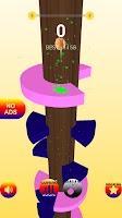 Felix Helix Jump Ball -  Helix Jump Game on Bounce
