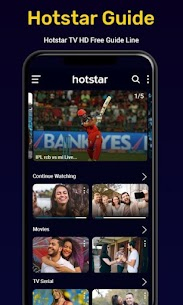 Hotstar Live TV Shows – Movies & Streaming Guides 2