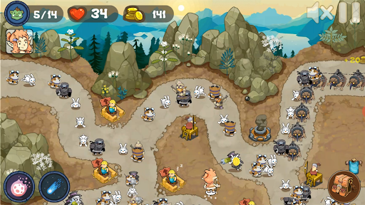 Tower Defense Realm King: Epic TD Strategy Element  screenshots 5