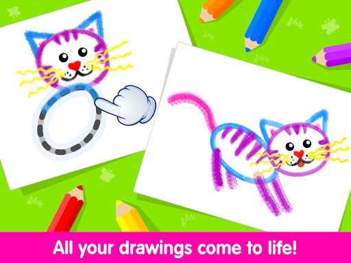 Toddler Drawing Academyud83cudf93 Coloring Games for Kids android2mod screenshots 11