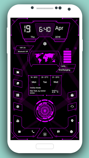 High Style Launcher 2020 - hitech homescreen theme 37.0 Screenshots 5