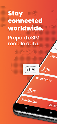 DENT: eSIM data plans & data top-up for all phones 3.6.1 Screenshots 1