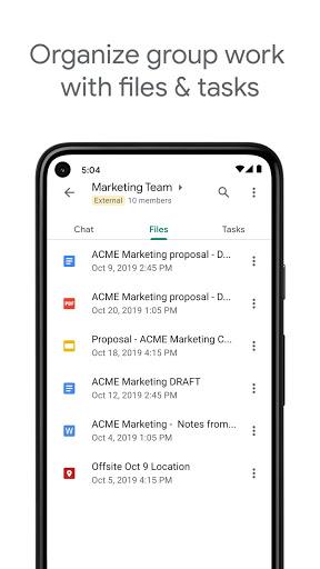 Google Chat apktram screenshots 6