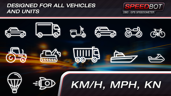 Speedbot. Free GPS/OBD2 Speedometer screenshots 8