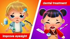 幸せな病院ゲーム - 医者 の子供 ゲームのおすすめ画像1