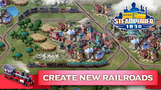 SteamPower 1830 Railroad Tycoon apkslow screenshots 2