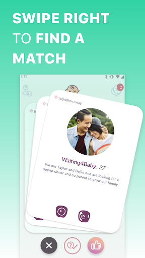 just a baby - find co-parents, egg & sperm donors screenshot 3