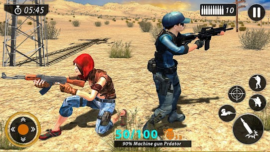 FPS Commando New Game 2020: Shooting Free Games Game Hack Android and iOS 2