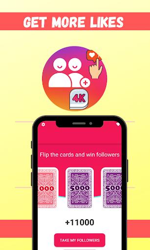 4K Followers -- followers& Likes for Instagram screenshots 2