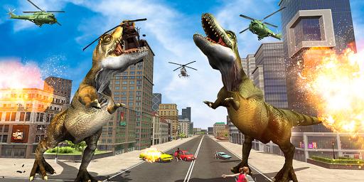 Monster Dino Vs King Kong-City Rampage Simulator 1.0.3 screenshots 9