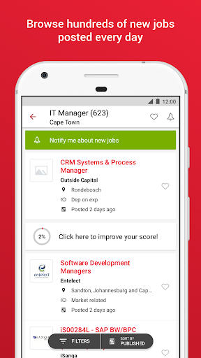 Pnet - Job Search App in South Africa 152.0.1 screenshots 2