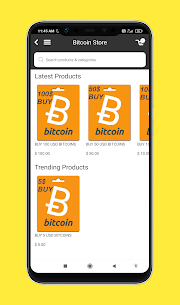 Bitcoin Store – Buy Bitcoins With Free Money For Android 3