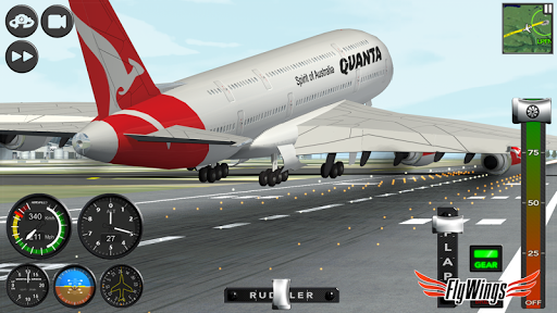 Flight Simulator 2015 FlyWings Free 2.2.0 screenshots 16