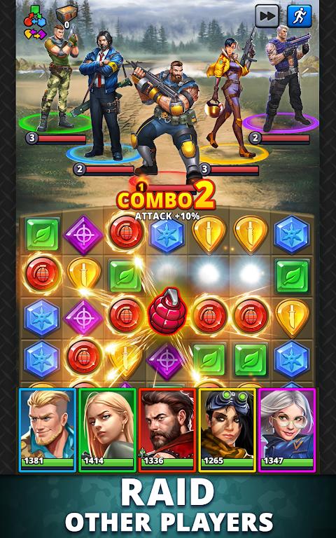 Puzzle Combat: Match-3 RPG poster 13