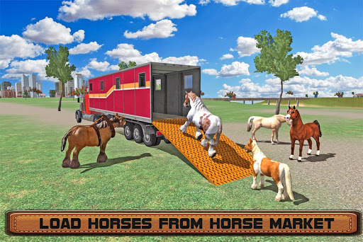 Horse Stunts Transporter Truck  screenshots 9