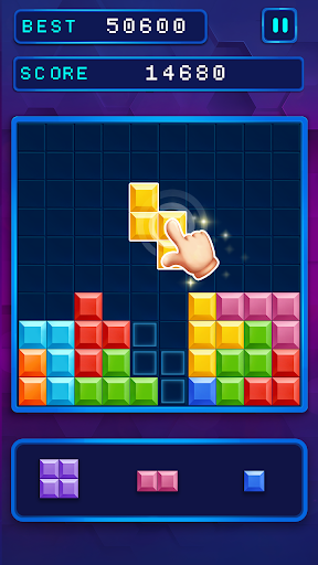 Block Brick Puzzles 10x10 - fun game to play 0.8 screenshots 4