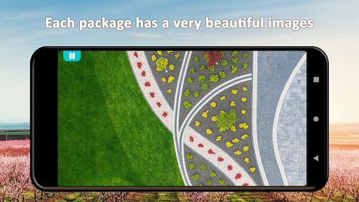 Residential Gardens Merge Puzzle apklade screenshots 2