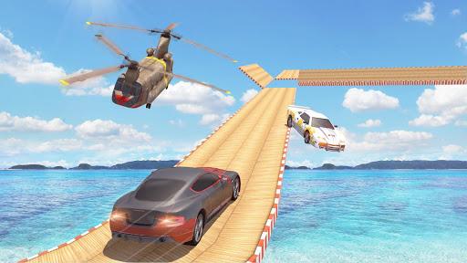 Mega Ramp Car Stunts Racing : Impossible Tracks 3D screenshots 8