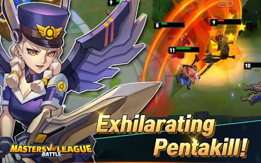 Masters Battle League 5v5 : Legend MOBA PvPTrainer screenshots 9