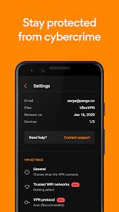 Ultra VPN – Secure Proxy & Unlimited VPN MOD (Premium) 3
