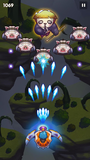 Sky Champ: Galaxy Space Shooter modiapk screenshots 1